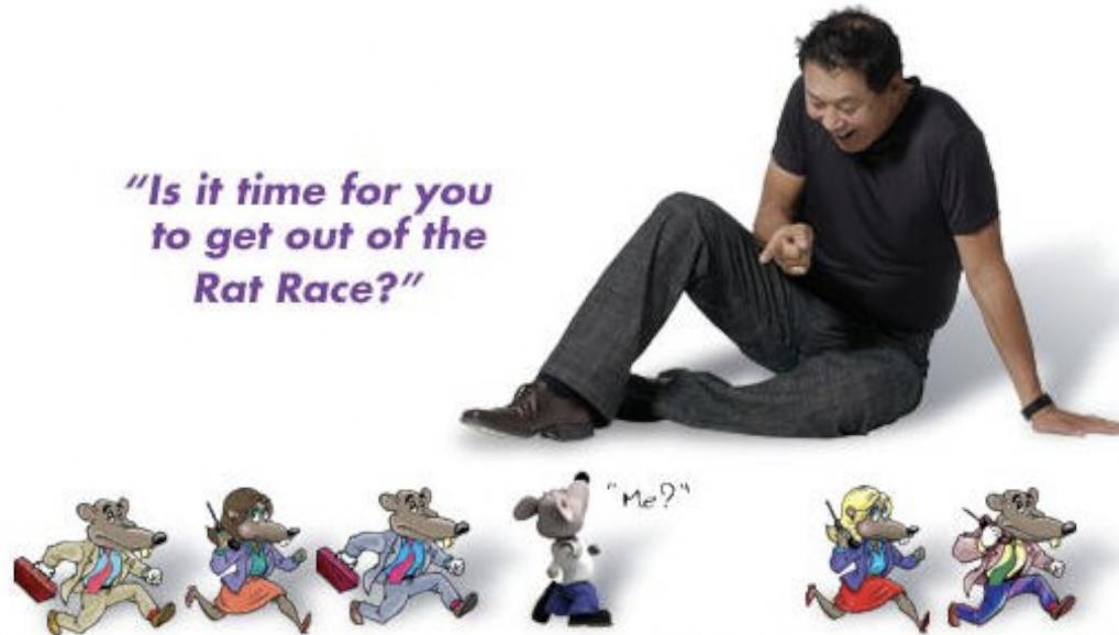 Rober Kiyosaki Père Riche Père Pauvre Sébastien D immobilier RAT RACE 2