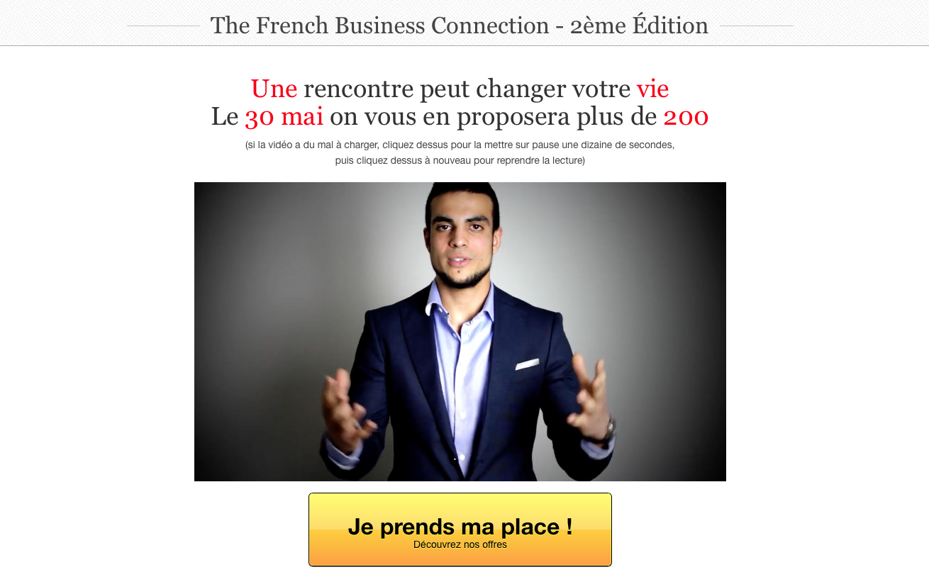 Sofiane the french business connection